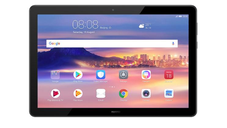 """Huawei MediaPad T5 10"""" 2GB/16GB 4G Tablet Black"""