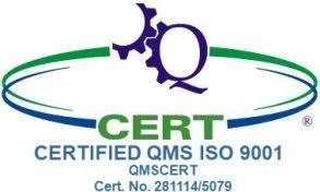 Πιστοποιητικό Πολιτικής Ποιότητας ISO